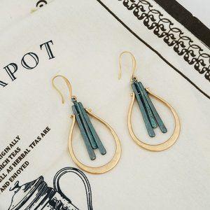 Geometric Fashion Hollow Drop Earrings
